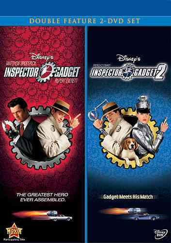 INSPECTOR GADGET/INSPECTOR GADGET 2 (DVD)